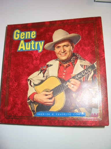 Welcome Gene Autry the Singing Cowboy Collectibles