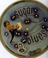 Vogue picture disc 78 rpm - Sugar Blues