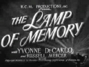 The Lamp of Memory